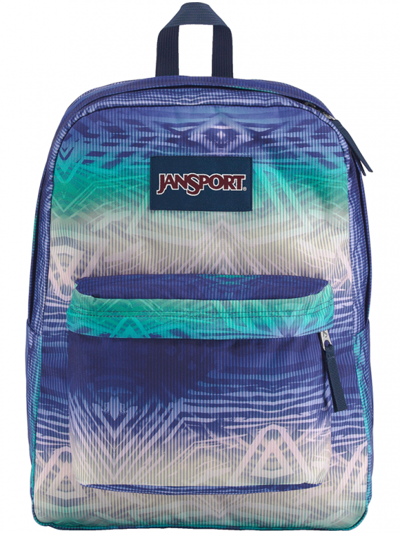 Mochila JanSport Superbreak Optic Voyage 25L