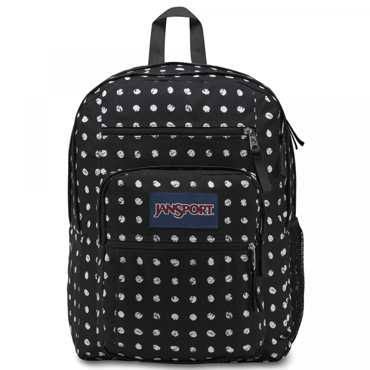 Mochila JanSport Big Student Black Sketch Dot 34L