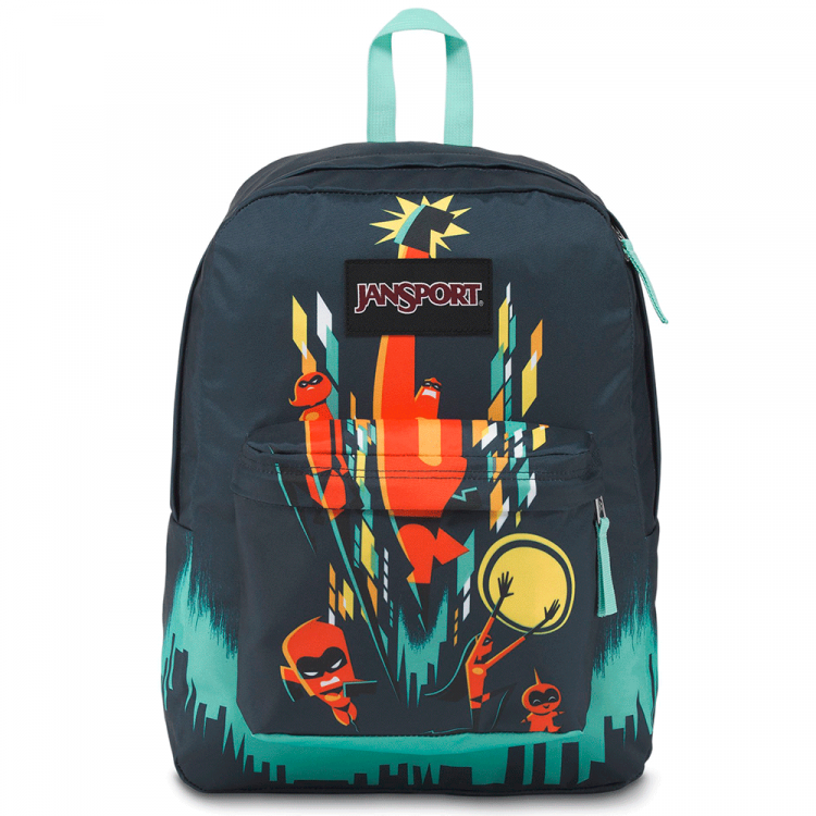 Mochila JanSport High Stakes Los Increíbles Family City Escape 25L