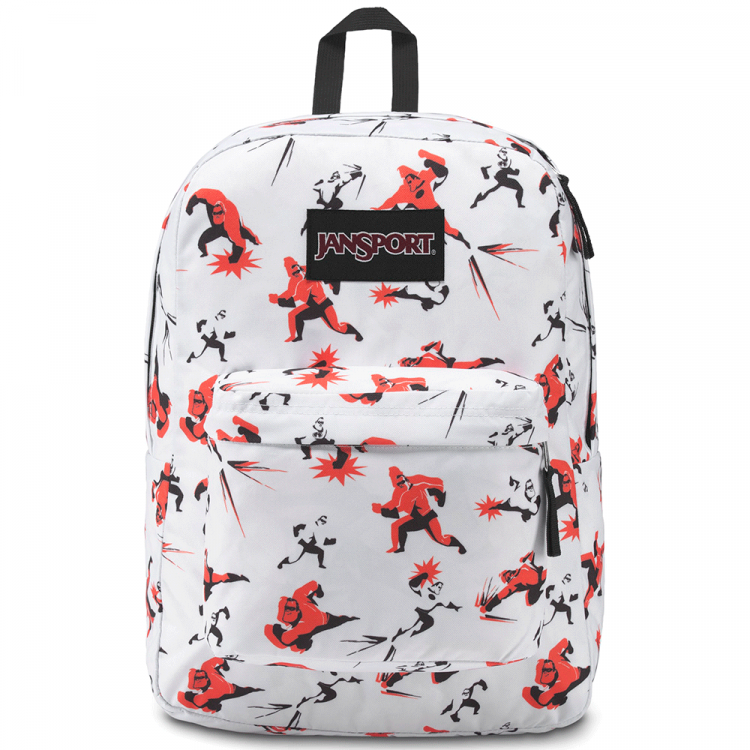 Mochila JanSport Increíbles Superbreak Mr. Incredible 25L