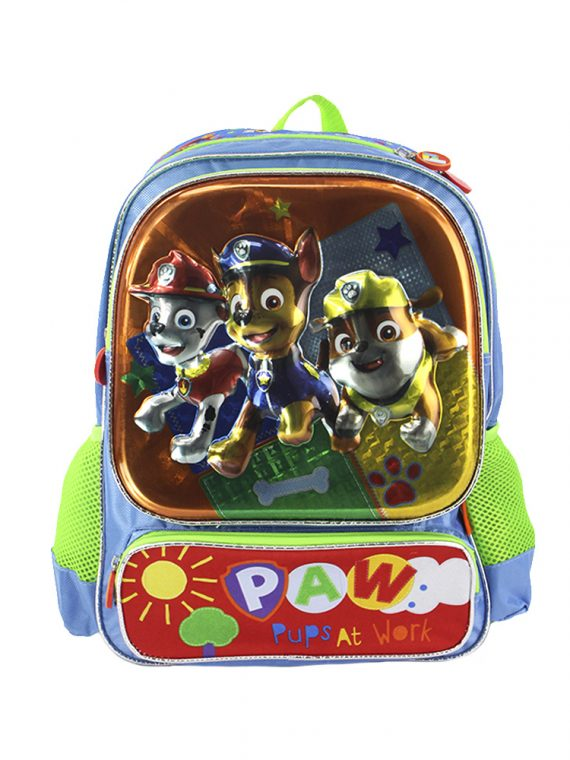 Mochila Grande Paw Patrol Pups At Work XXA-PW-M1721-V