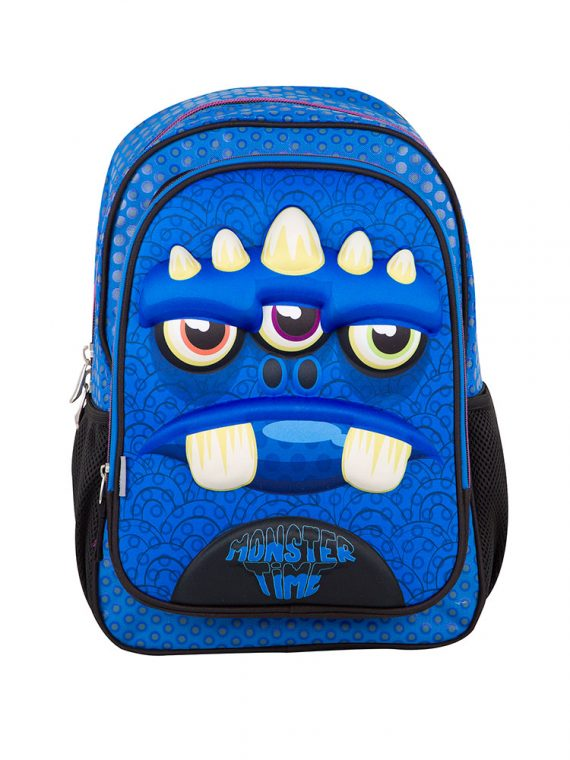 Mochila Chenson Monster Time Frontal - Le Bolshá
