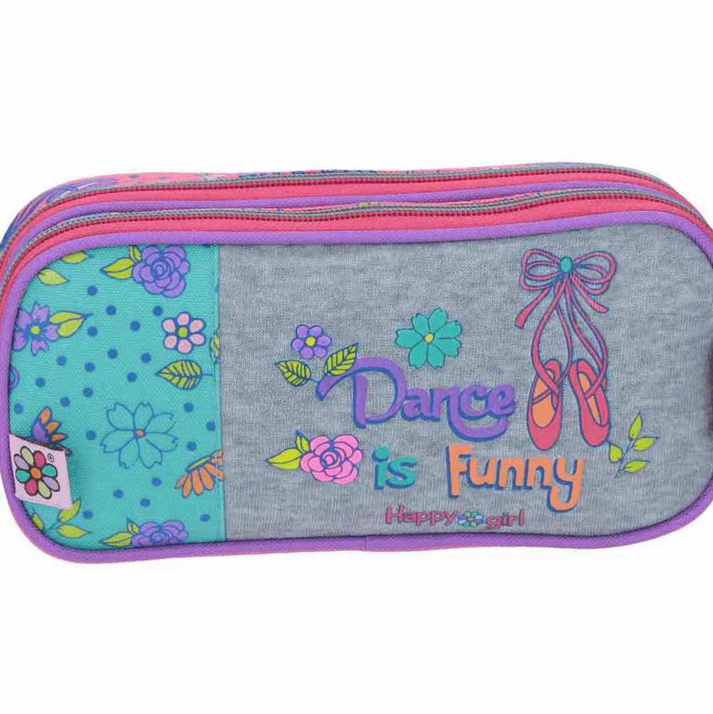 Estuche escolar Happy Girl Dance is Funny