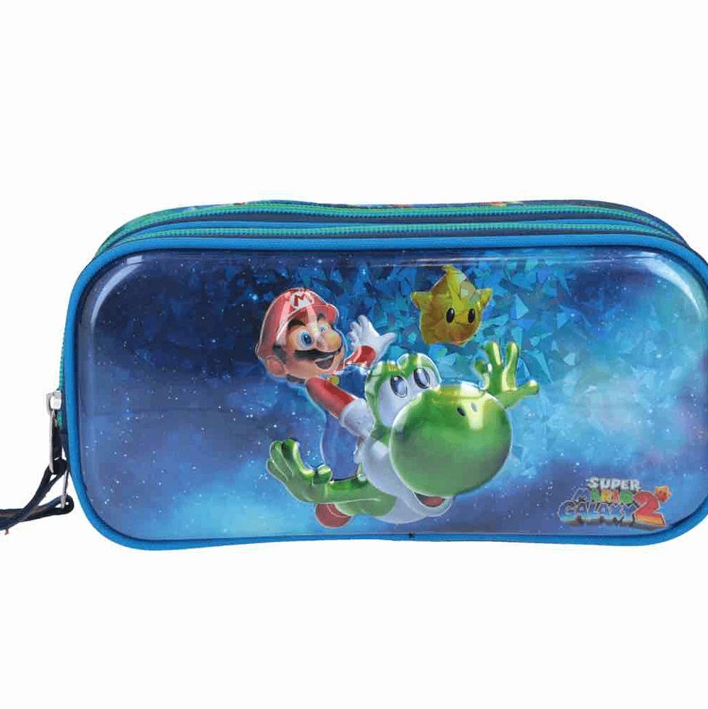 Estuche Mario y Yoshi