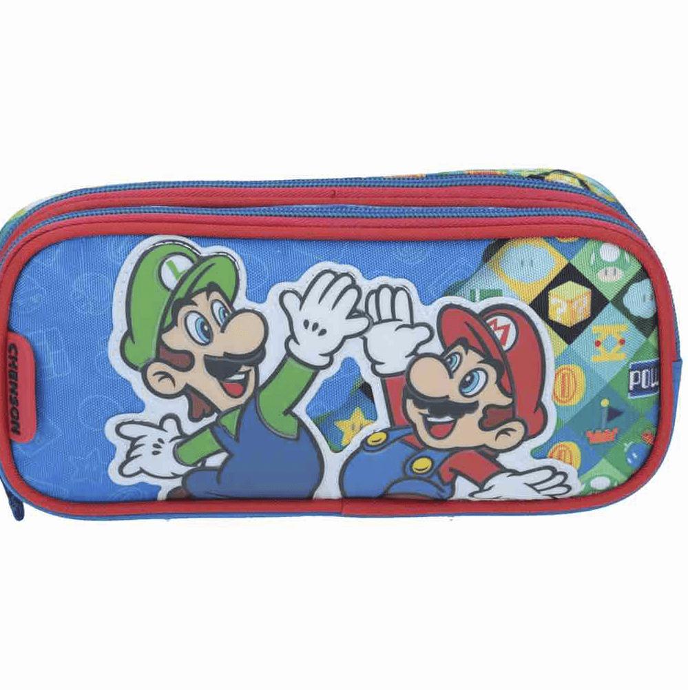 Estuche Escolar Mario Bros