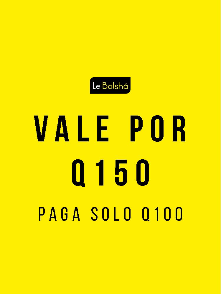 Vale x 150 costo 100 3 nueva