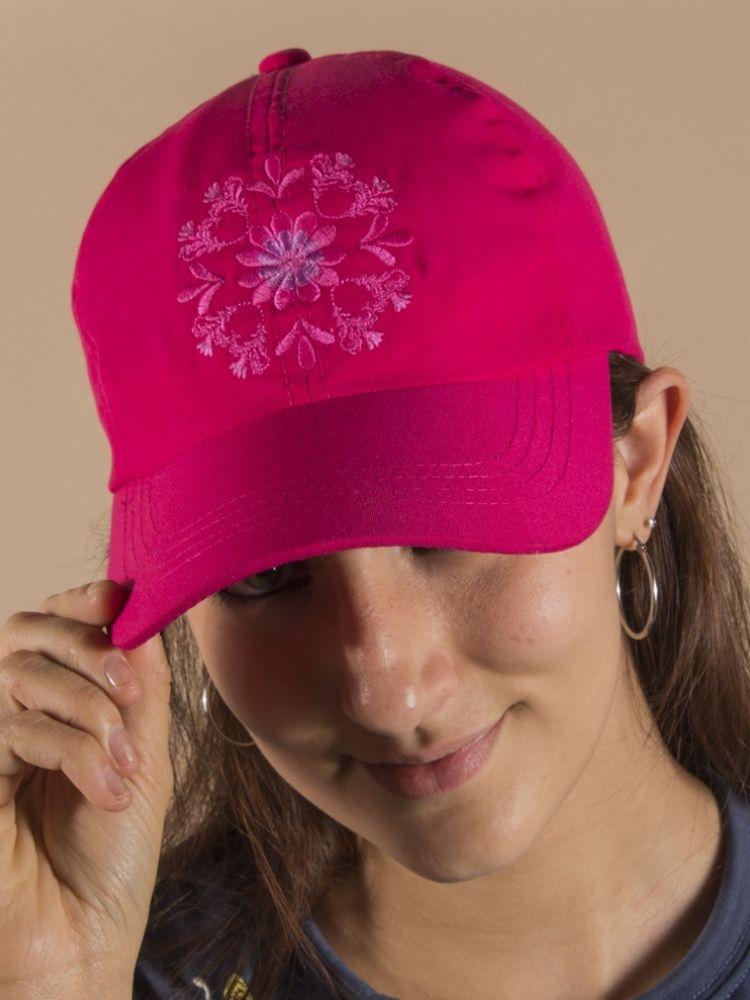 gorra-para-mujer-GORRAFUSCFLOUNI-perfil